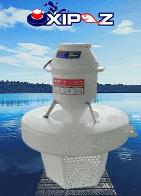 Aireador para piscicolas y lagos